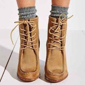 Frye Parker Moc Short Boots, US 9.5M